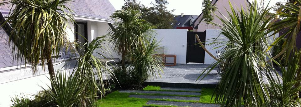 les paysages de l 39 aulne en finist re paysagiste pont de buis les quimerch 29 cr ation de. Black Bedroom Furniture Sets. Home Design Ideas