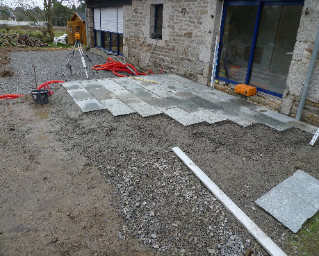 R alisation de dallage de terrasse pont de buis les quimerch 29 r alisat - Refection terrasse beton ...